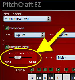 pich crft ez  pitch correction